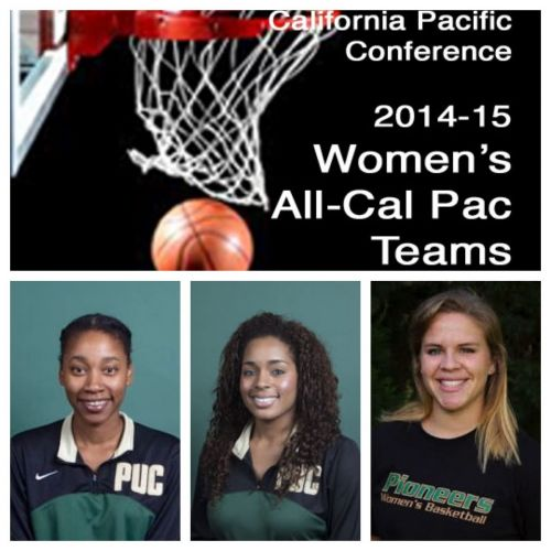 Amber Washington First Team, Ariel Barnes Second team, Kaitlyn Knab Honorable Mention