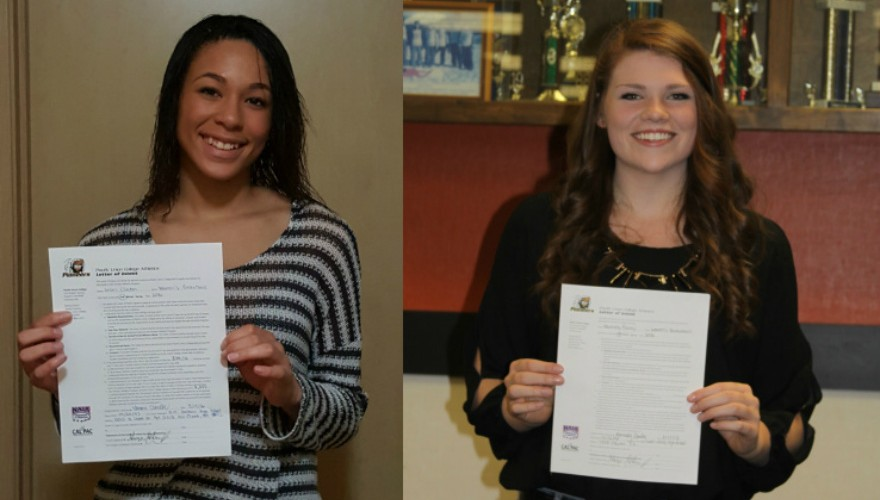 Photo for Women's Basketball Signs Guard Clinton and Post Bailey