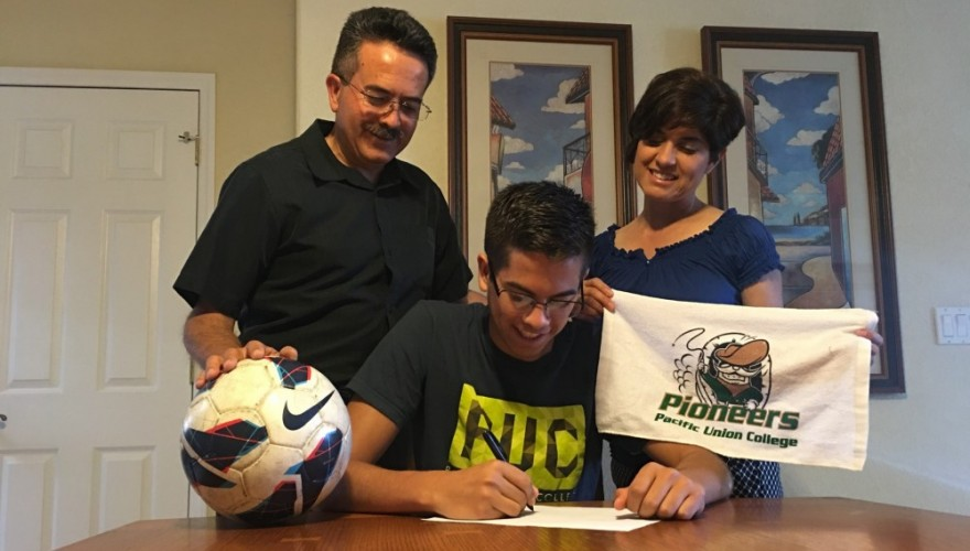 Photo for Soccer Adds Freshman Antonio Robles