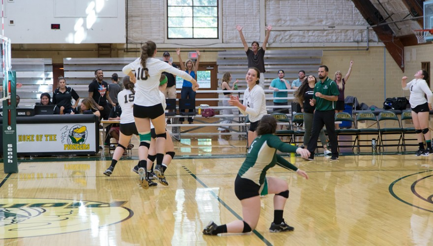Photo for Lady Pioneers Hold On For First League Win