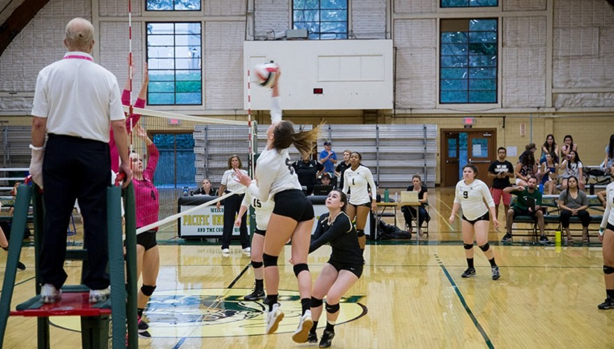 Photo for Pioneers Dominant on the Road in Three Set Victory
